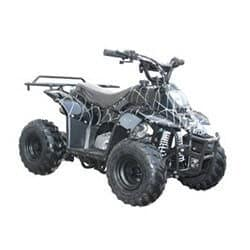 Gas ATV for Kids: //www.kidsatvsale.com/wp-content/uploads/110cc-Four-Wheelers-6-Tires-Atvs-Spider-Black.jpg||//www.amazon.com/gp/product/B00306E41W/?tag=kidsatvs-20