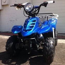 Gas ATV for Kids: //www.kidsatvsale.com/wp-content/uploads/110cc-Four-Wheelers-6inch-Tires-Atvs.jpg||//www.amazon.com/gp/product/B00306KUB0/?tag=kidsatvs-20