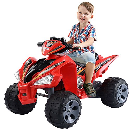 Proper age to ride kids ATV without remote control
