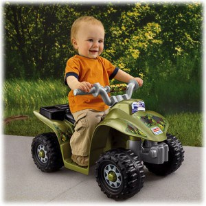 Fisher-Price Power Wheels Camo mini Quad