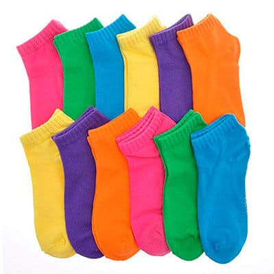 Angelina Cotton Variety Low Cut Socks