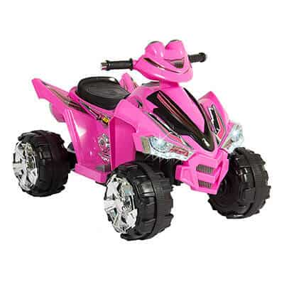 Best Choice Products 12V Electric 4-Wheeler Pink