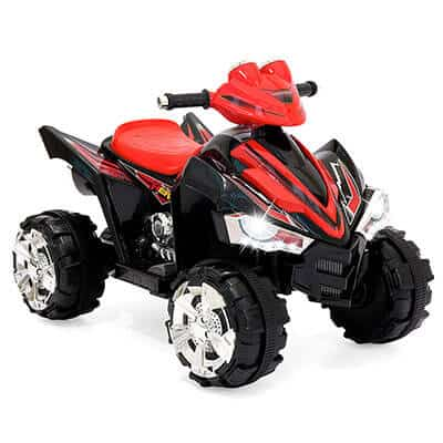 Best Choice Products 12V Electric 4-Wheeler Red