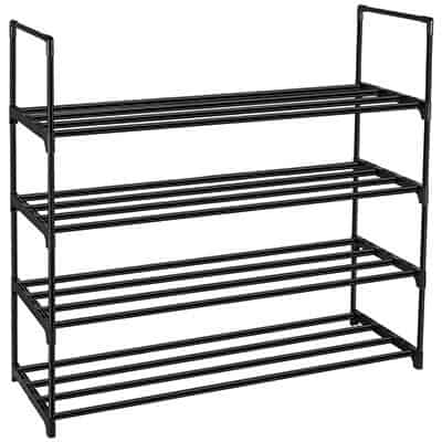 DazHom 4-Tier Shoe Rack