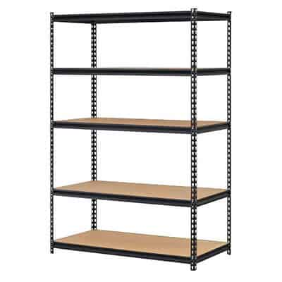 EDSAL Black Steel Storage Rack