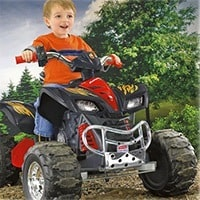Fischer Price ATV for kids Power Wheels Kawasaki KFX