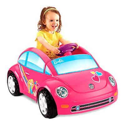 Fisher-Price Power Wheels Barbie Volkswagen