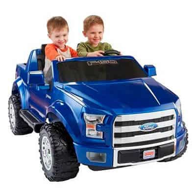 Fisher-Price Power Wheels Ford Blue