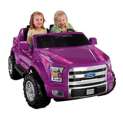 Fisher-Price Power Wheels Ford Purple