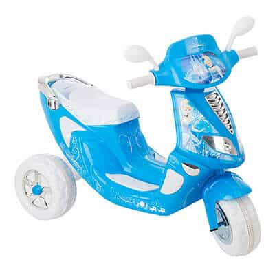 Kid Trax Cinderella Scooter