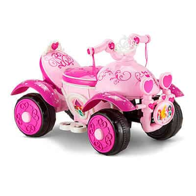 Kid Trax Disney Princess Quad