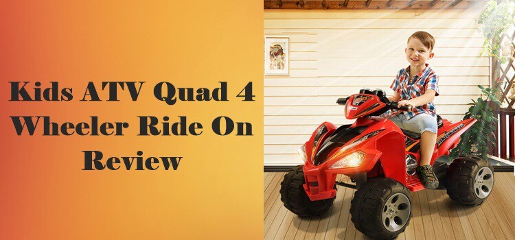 Kids ATV Quad 4 Wheeler Ride On