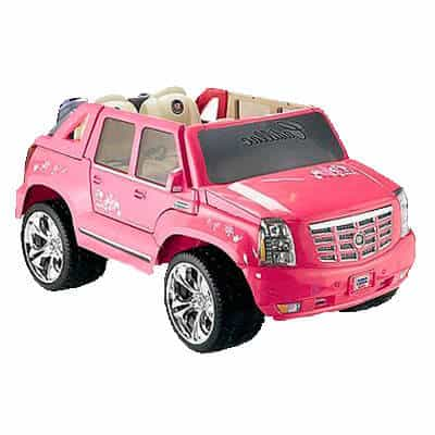 Power Wheels Barbie Cadillac Escalade