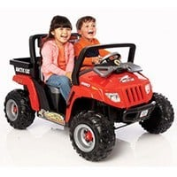 Power Wheels Fisher Price Red Arctic Cat Ride On