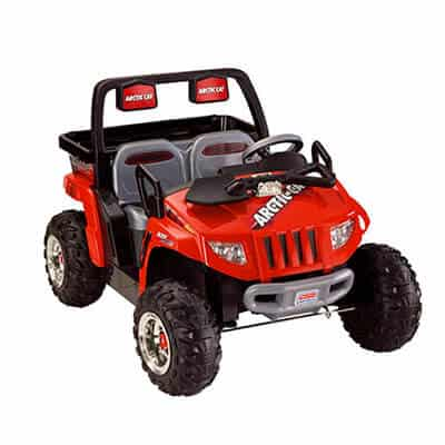 Power Wheels Fisher-Price Red Arctic Cat