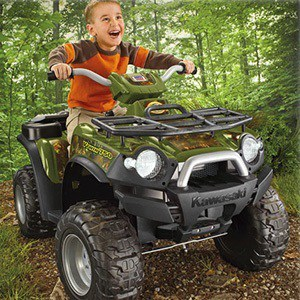 Power Wheels Kawasaki Brute Force Camo ATV