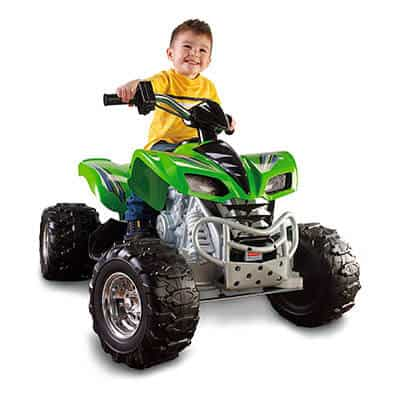 Power Wheels Kawasaki KFX Green