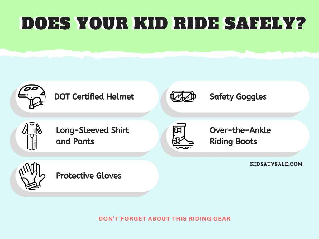 Safety Riding Gear for Kids