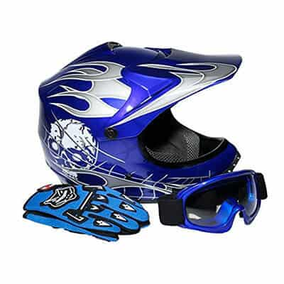TCMT DOT Kids Motocross Helmet