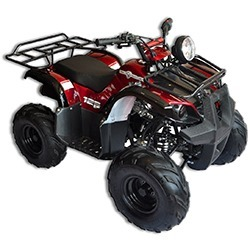 Trailrover 125CC ATV Red with Automatic Transmission
