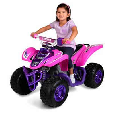 Yamaha Girls Raptor 12V Purple