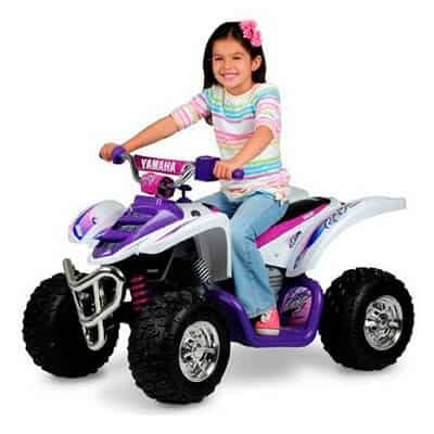 Yamaha Girls Raptor 12V White