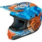Four-wheeler helmet for kids