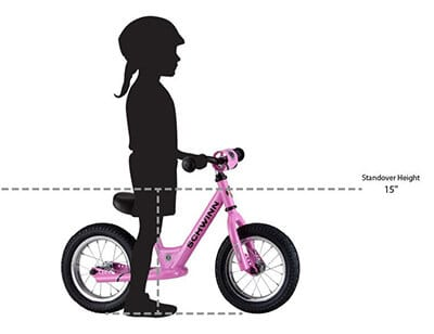 Balance bike height