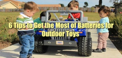batteries outdoor toys