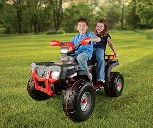Electric ATV for Kids - battery powered four wheeler