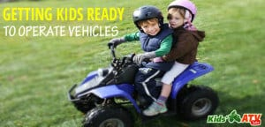 How to operate a kids ATV