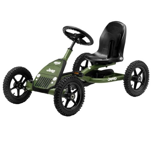 BERG Toys 24.21.34.00 Jeep Junior Pedal Go Kart,