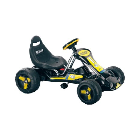 Lil` Rider Black Stealth Pedal Powered Go-Kart