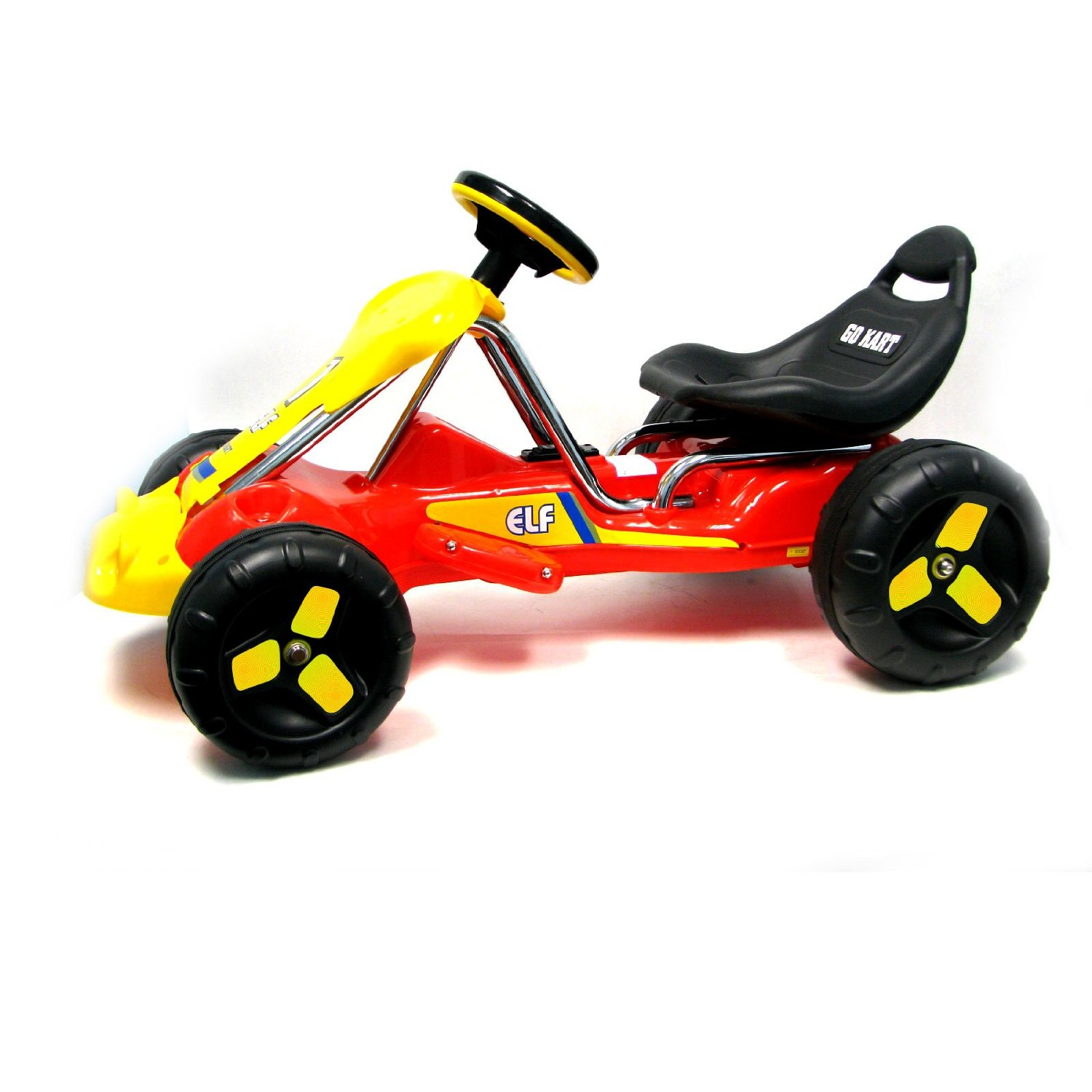Red Elf Rider Battery Operated Child`s Go-Kart