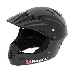 ATV/Motocross Helmet: Youth Helmet With Full Face Coverage - For Scooters Skateboards Roller Blading and Bikes