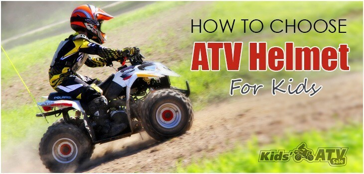 How to choose ATV helmet for kids
