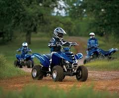Kids four-wheeler ride-on