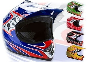 Kids helmet for ATV
