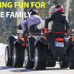 Atv vehicles for whole family
