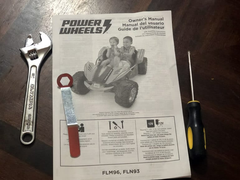power wheels manual