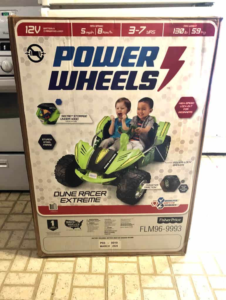 power wheels unboxing