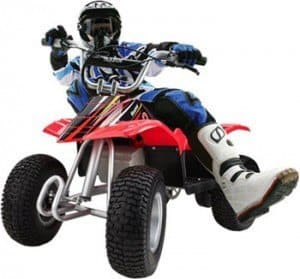 Razor dirt quad - Four-wheeler for kids