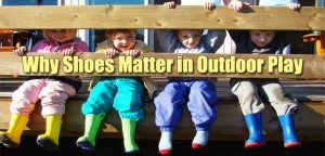 shoes outdoor play