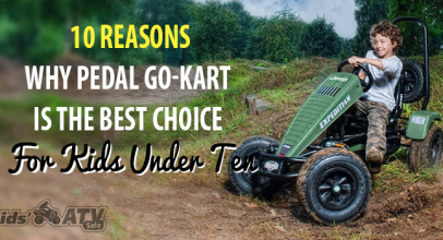 10 Reasons Why Pedal Go-Kart Is The Best Choice for Kids Under 10 Years