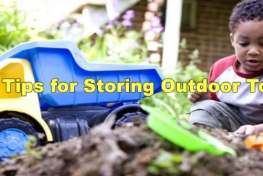 20 Tips for Storing Outdoor Toys
