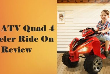 Kids ATV Quad 4 Wheeler Ride On Review