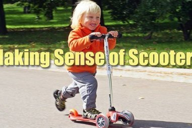 Making Sense of Scooters for Kids