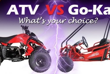 My Kid Wants The Best Ride-On Toy. Kids ATV VS Go-Kart. What to Choose?