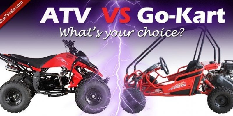 Kids ATV VS Go-Kart. Which Ride-On Toy to Choose?