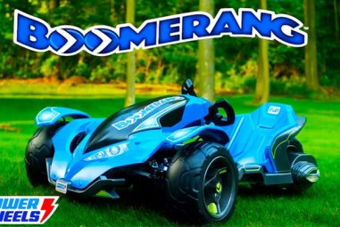 Power Wheels Boomerang Review